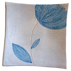 tulipano-blu-piatto-quadrato